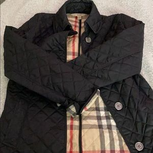 burberry quilted black